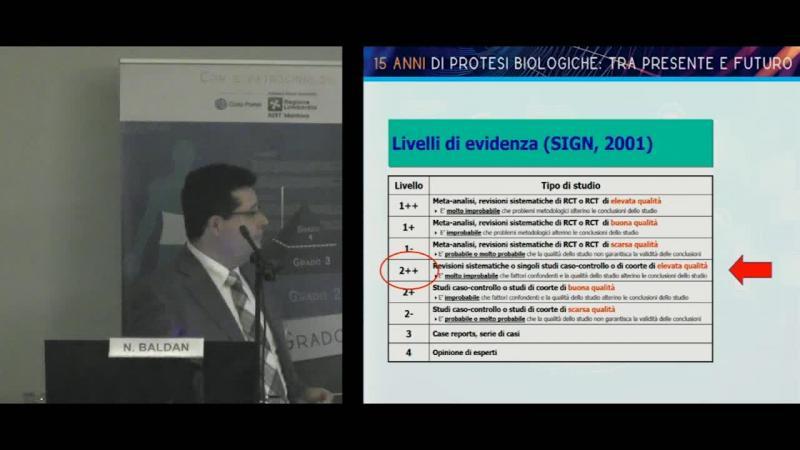Presentazione dello studio prospettico Lombardo-Triveneto sull'uso di protesi biologiche