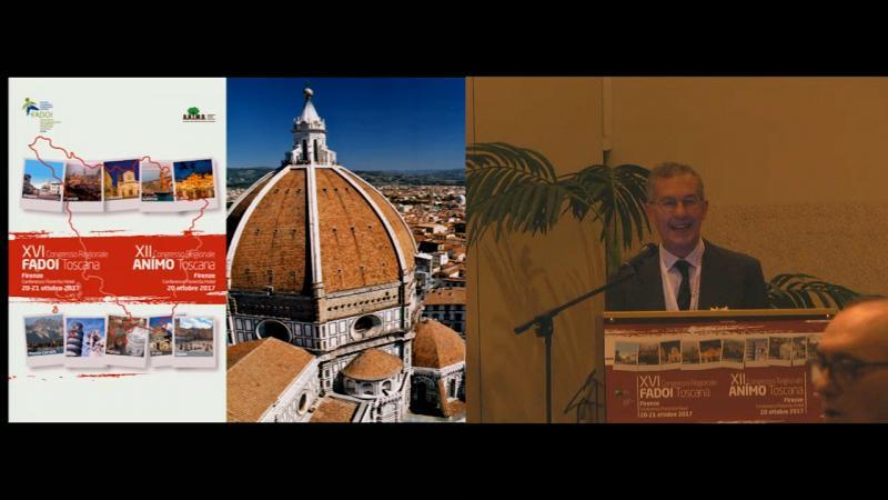 Apertura del congresso e saluti dei Presidenti FADOI e ANIMO