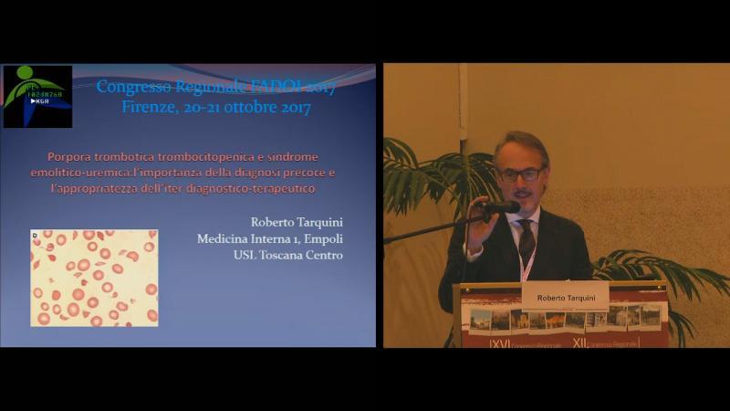 Porpora trombotica trombocitopenica e sindrome emolitico-uremica l'importanza della diagnosi precoce e l'appropriatezza dell'iter diagnostico-terapeutico