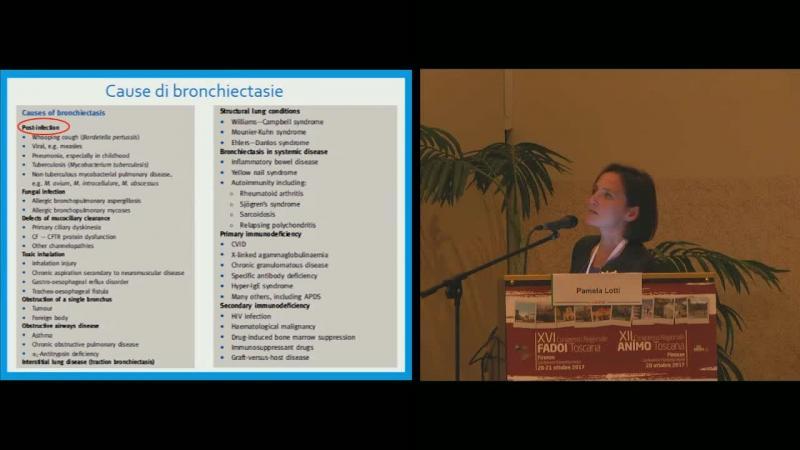 Bronchiectasie patologia emergente ?