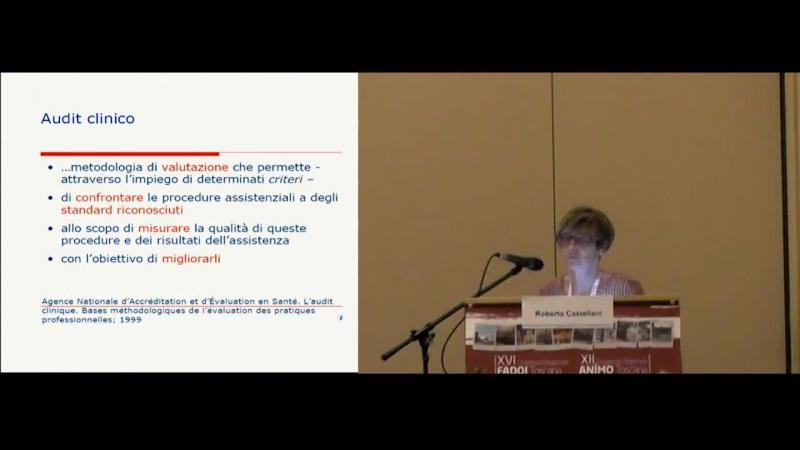 Presentazione di un audit sulla prevenzione delle infezioni correlate al cateterismo vescicale