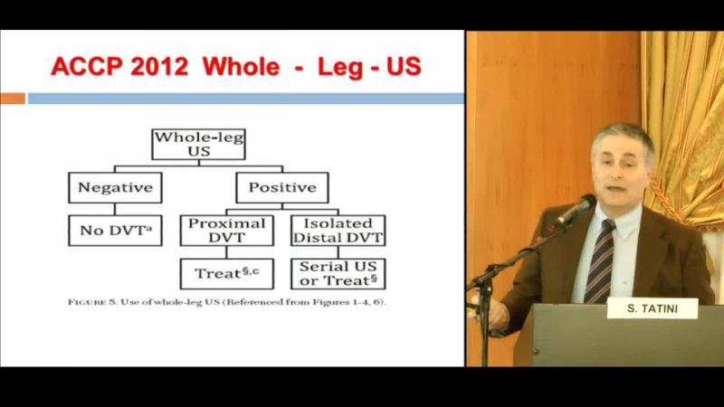 Diagnosi di TVP dopo le linee guida ACCP 2012