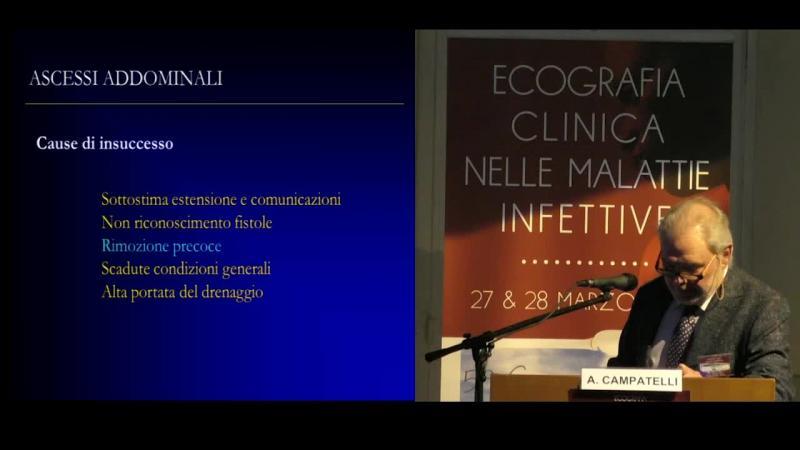 Ecografia interventistica nella gestione della patologia infettiva addominale