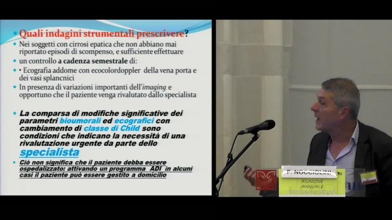 La gestione ambulatoriale del paziente con cirrosi avanzata