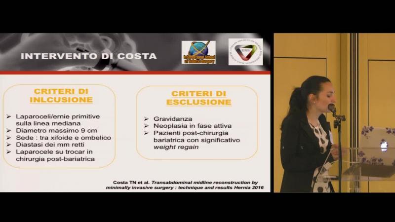 I Difetti della linea mediana Tecnica robotica intervento di Costa The Brazilian technique