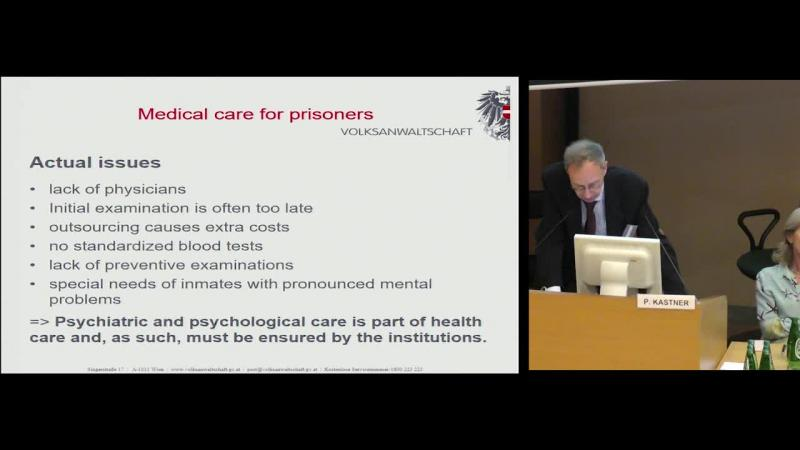 OPCAT Mandate in Europe highlighting results from Austria in improving accessibility to medical care for prisoners under the legal