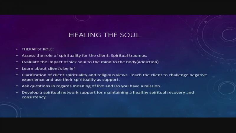 Spiritual approach for the treatment of opioid addiction