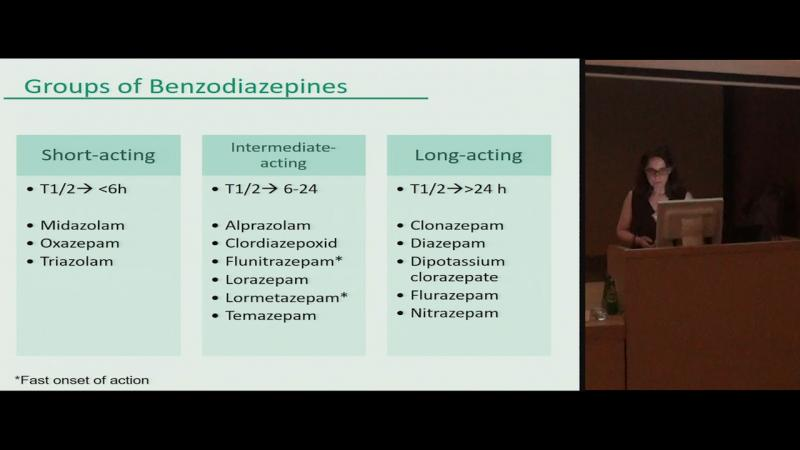 """Benzodiazepines use """"to get high"""" in patients admitted for addiction treatment in Spain"""