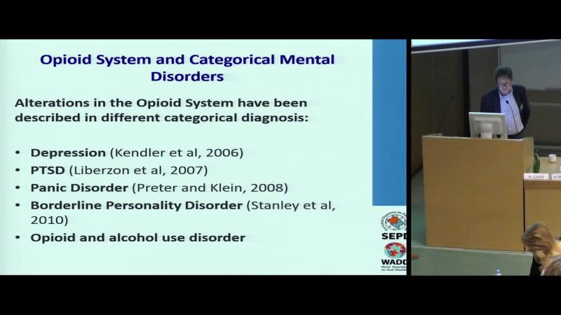 Opioid system and Mental Disorders