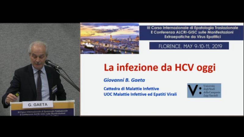 L'infezione HCV oggi
