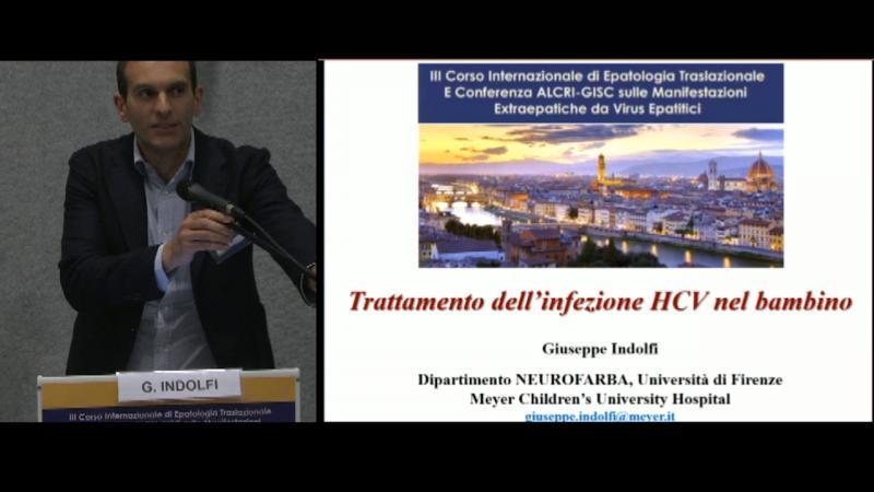Trattamento dell'infezione HCV nel bambino